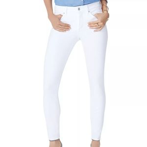 NYDJ Ami Skinny Legging Jeans Optic White 16